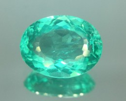 1.84 Ct Neon Blue Apatite ~ Insanity ~ Brazilian ~ Untreated Kj53