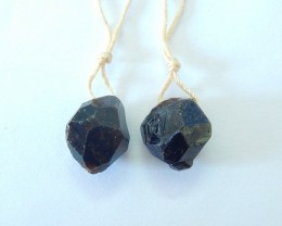 21ct Natural Nugget Garnet Earrings For Women,Fashion Women Jewelry Accesso