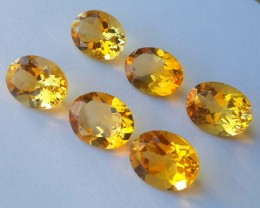 9.50 CTS DAZZLING TOP NATURAL YELLOW CITRINE OVAL BRAZIL NR!!!