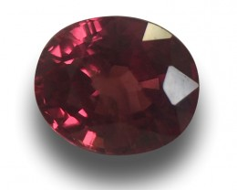 Orangish Red Sapphire Loose Gemstone | Sri Lanka - New