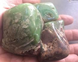 Parcel 3 Australian jade ,Chrysoprase ppp 1777