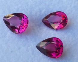 3.40 cts Natural Unheated Purple~Rhodolite Garnet NR!!!