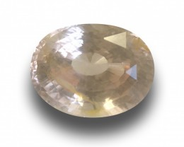 Natural Unheated Yellow Sapphire  Loose Gemstone  Sri Lanka - New