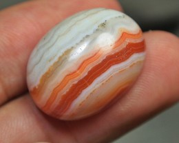 28.90CRT BEAUTY NATURAL MOTIF AGATE FROM INDONESIA