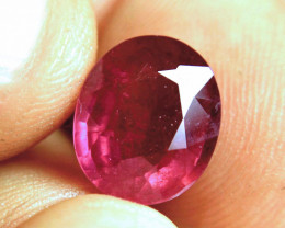 6.79 Carat Fiery Pigeon Blood Ruby - Gorgeous
