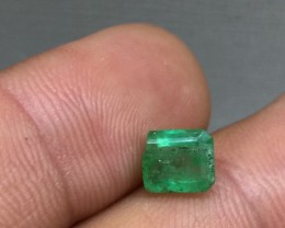Stunning 1.46ct All Natural Colombian Emerald Untreated!
