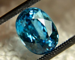 5.12 Carat Swiss Blue VVS Zircon - Gorgeous