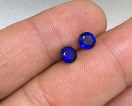Wonderous 1.53tcw. Natural Blue Ceylon Sapphire Heated Only!
