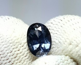 UNTREATED 1.29 CTS NATURAL BEAUTIFUL OVAL MIXED BLUE SPINEL