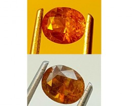 BASTNASITE RAREST COLOR CHANGE 1.35CT GEMSTONE IGC87