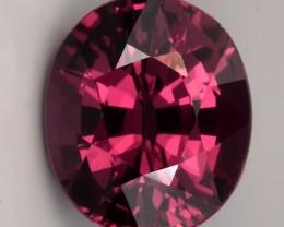 2.62ct Hot Purple Crimson Rhodolite Garnet Premium gem