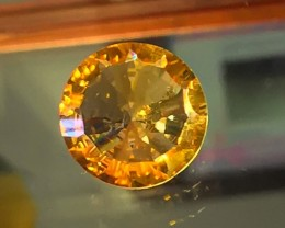 3.66CT FANCY CUT ORANGE GOLD TONE CITRINE - AMAZING NO RESERV