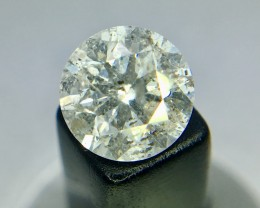 0.72 Crt Certified Natural Diamond Faceted Gemstone (R 112)