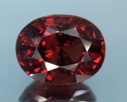 3.02 Ct Natural Rhodolite Garnet Excellent Color and Luster Gemstone Kj54