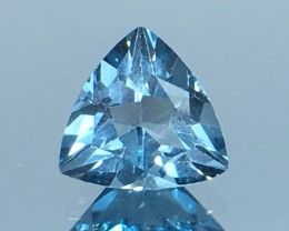 1.41 Ct Awesome London Topaz Excellent Color  Kj54