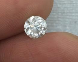 Wondrous IGL Certified $2968 Nat 0.95ct. Round White Diamond