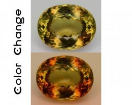 Big Size 12.80 ct Turkish Diaspore Color Change SKU.4