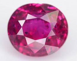 Unheated Ruby 0.67 ct Top Color Mozambique SKU.4