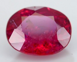 Unheated Ruby 0.53 ct Top Color Mozambique SKU.4