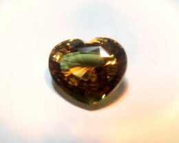 7ct Heart Cut Sri Lankan Alexandrite