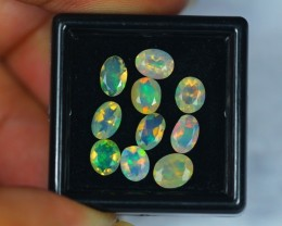 2.76ct Natural Ethiopian Welo Faceted Opal Lot GW248