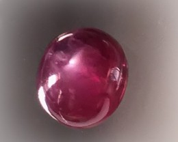 5.50ct STAR RUBY with mixed tones - no reserve