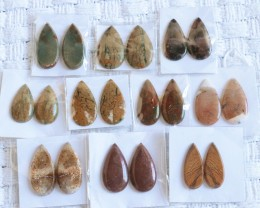 10 Pairs Manufactures Parcel Pear jasper Pairs    PPP 1853