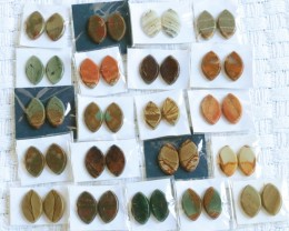 20 Pairs Manufactures Parcel Marquise jasper Pairs    PPP 1856