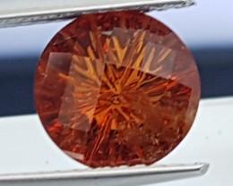 2.99cts Custom Cut Grossular Garnet,    Untreated