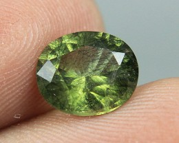 Top Quality Peridot Have a Rich   hair-like Ludwigite inclusions  Collector