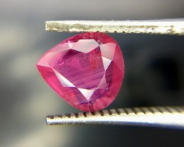 1.06 Crt GIL Certified Unheated Ruby Faceted Gemstone (R 113)