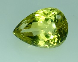 14.85 Crt Natural Lemon Quartz Faceted Gemstone (R 113)