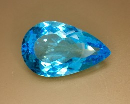 29.50 Crt Natural Topaz Faceted Gemstone (R 113)