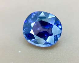 0.78 Crt GIL Certified Sapphire Natural  Faceted Gemstone (924)