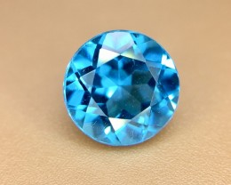 1.70 Crt Natural Topaz Faceted Gemstone (924)