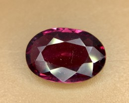 2.25 Crt Natural Rhodolite Garnet Faceted Gemstone (924)