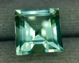 6.30 Crt Natural Green Amethyst Faceted Gemstone (924)