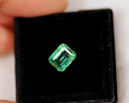 1.67Ct Natural Zambian Green Emerald