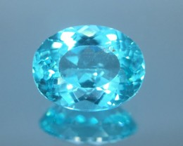 1.43 Ct Neon Blue Apatite ~ Insanity ~ Brazilian ~ Untreated Kj55