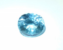 RESERVED 15ct Paraiba Tourmaline, Round Portuguese Cut