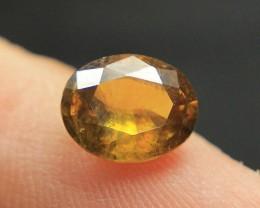 Wow Very Beautiful Yellow Sphene Tantanite From Pakistan.