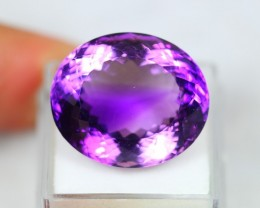 Lot 09 ~ 35.61Ct Natural VS Clarity Violet Color Amethyst