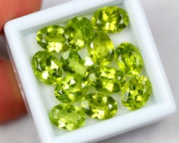 Lot 12 ~ 15.42Ct Natural VS Clarity Green Color Himalayan Peridot