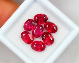 Lot 14 ~ 8.46Ct Natural VS Clarity Blood Red Color Ruby