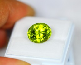 6.25Ct Natural Green Peridot Oval Cut Lot LZ58