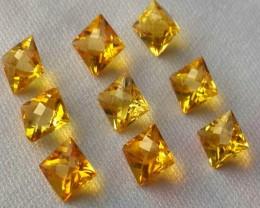 Fantabulous 3.15 Cts Natural Golden Yellow Beryl Fancy-Cut NR!!!