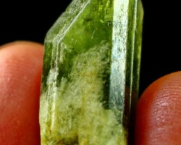 33 CT Natural - Unheated Green Diopside Crystal