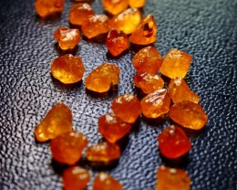 51 ct unheated, Beautiful  Superb Orange Spessartite Garnet Rough
