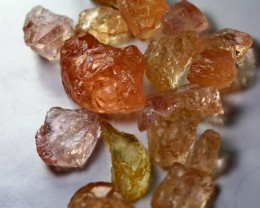 131 CT Natural - Unheated Pink Morganite  Rough lot