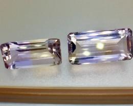 14.65 Crt Natural Ametrine Faceted Gemstone (R 114)